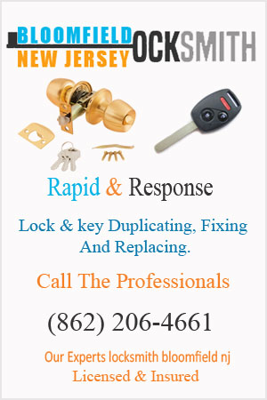 lock services Bloomfield NJ